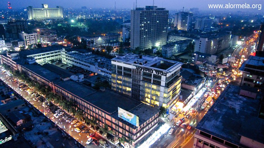 Dhaka City at Night