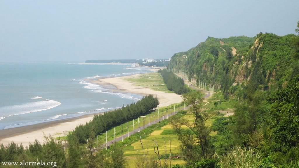 Himchori sea beach